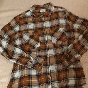 Dry Goods Thread and Supply Flannel shirt